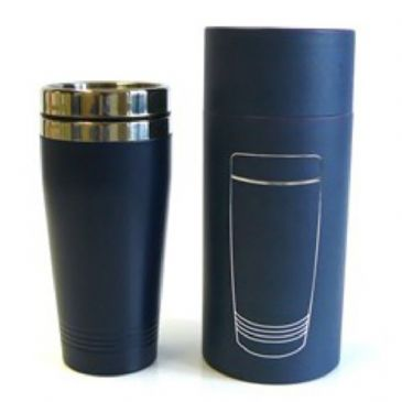 Blue Eco Steel Collection Insulated Travel Mug, Boxed